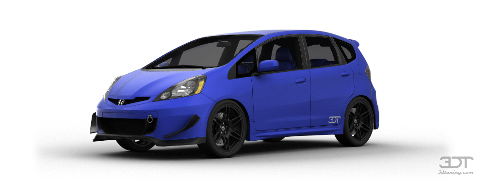 Honda Fit Sport 5 Door Hatchback 2009 tuning