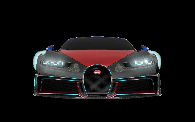 Bugatti Chiron 2 Door Coupe 2016