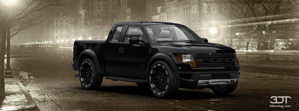 3DTuning of Ford F-150 SVT Raptor SuperCab Truck 2013 3DTuning.com - unique on-line car ...