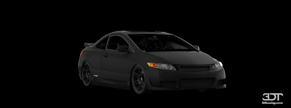 Honda Civic Si Coupe 2006 Tuning ...