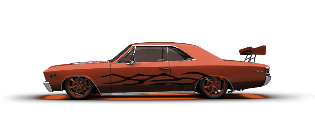 Chevrolet Chevelle SS-396 Coupe 1967 tuning
