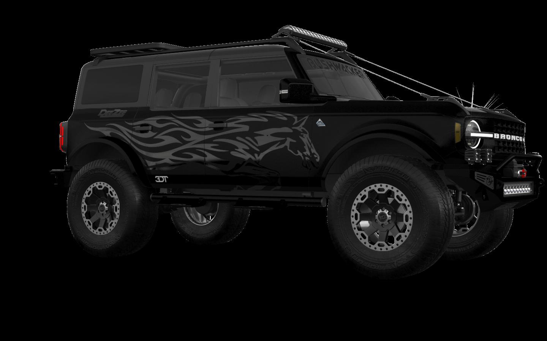 Ford Bronco 4 Door SUV 2021 tuning