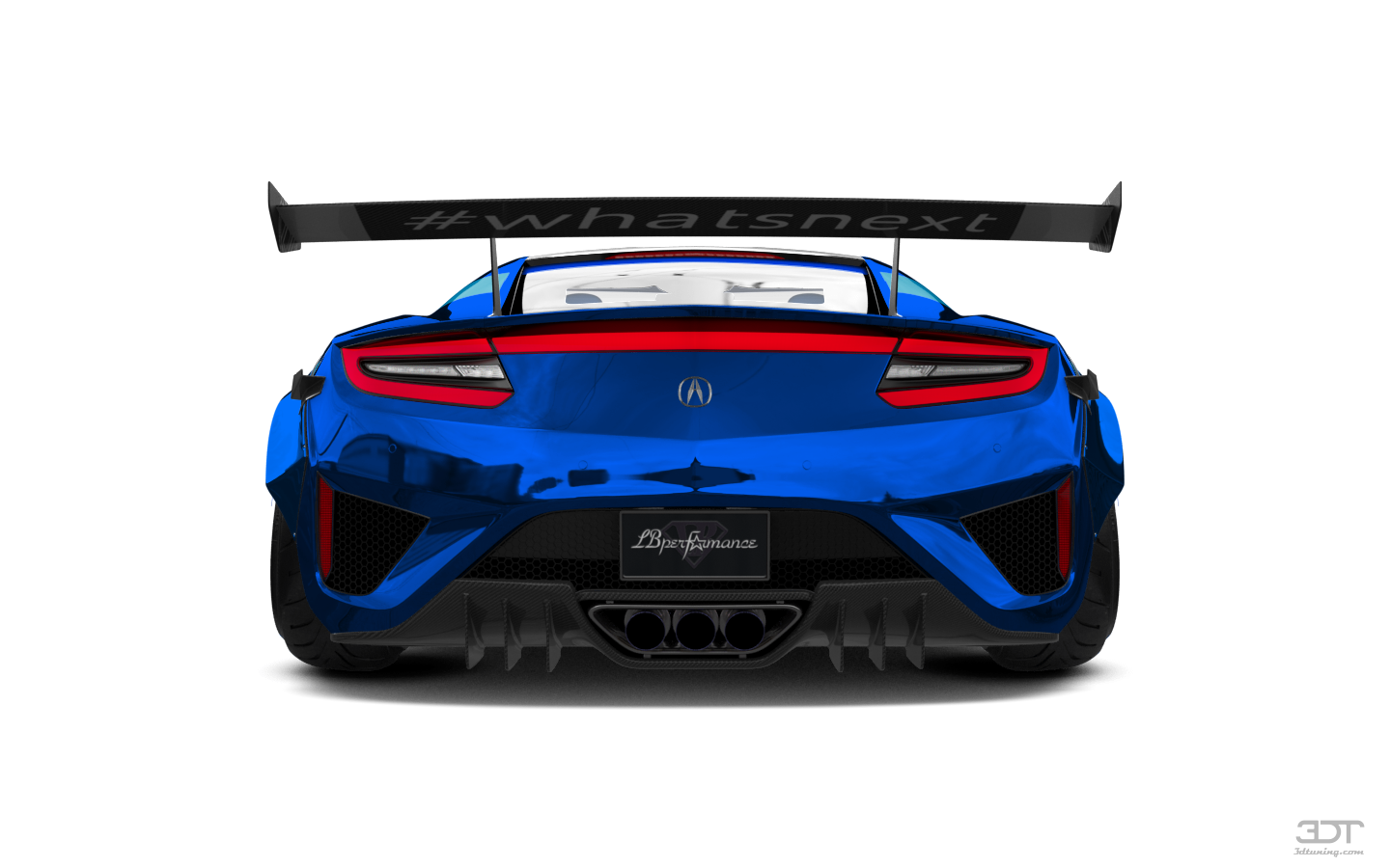 Acura NSX 2 Door Coupe 2017 tuning