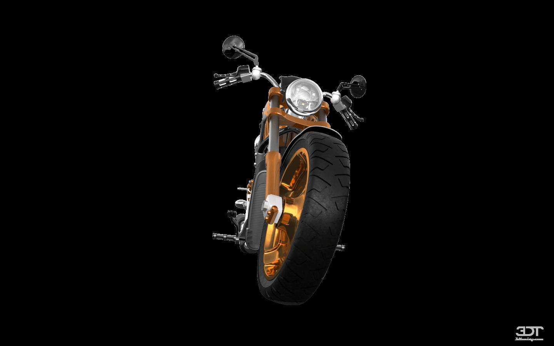 Harley-Davidson Custom Chopper Cruiser 2011