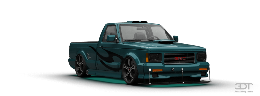 3DTuning of GMC Syclone Pickup 1991 3DTuning.com - unique on-line car configurator for more than ...