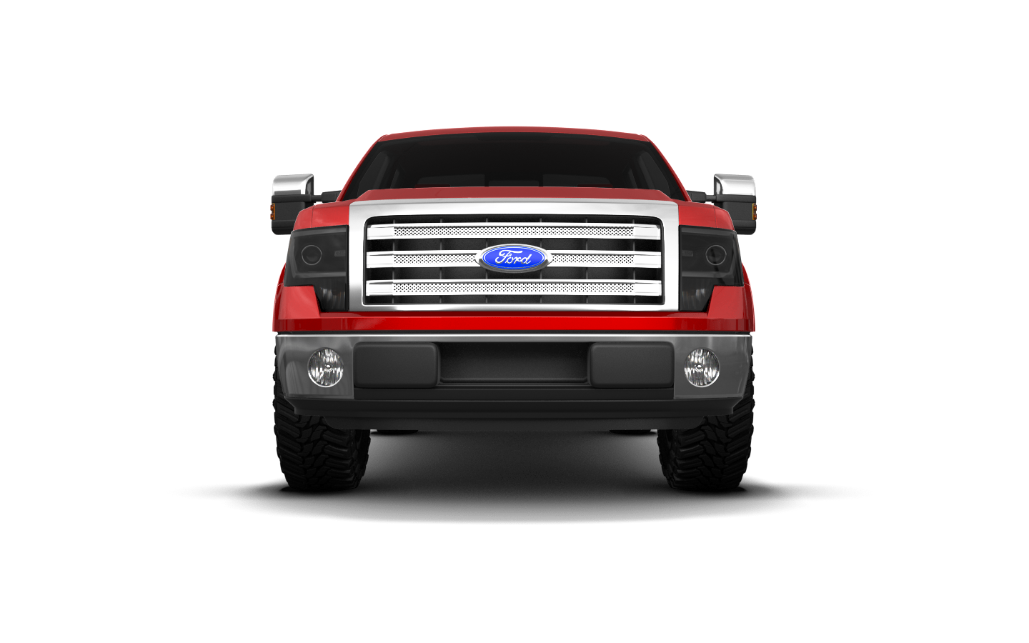 Ford F-150 Crew Cab 4 Door pickup truck 2013