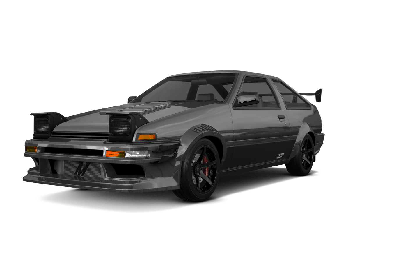 Toyota AE86 3 Door Hatchback 1985 tuning