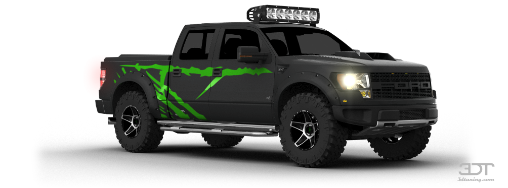 My Perfect Ford F 150 Svt Raptor Supercrew