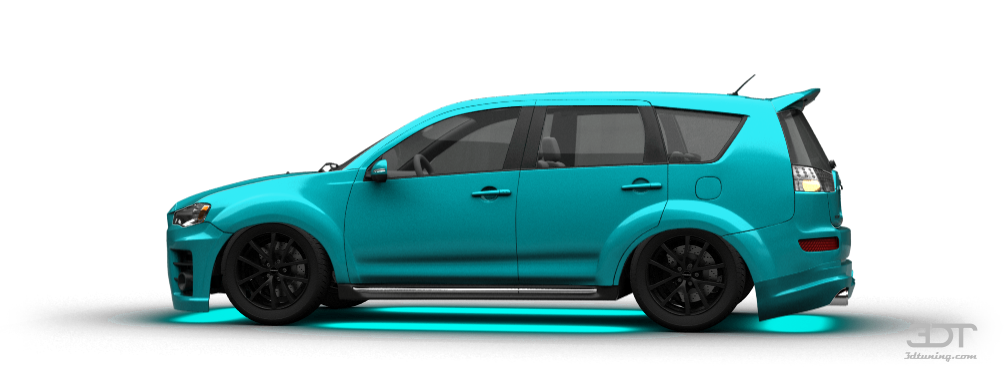 3DTuning of Mitsubishi Outlander Crossover 2012 3DTuning.com - unique on-line car configurator ...
