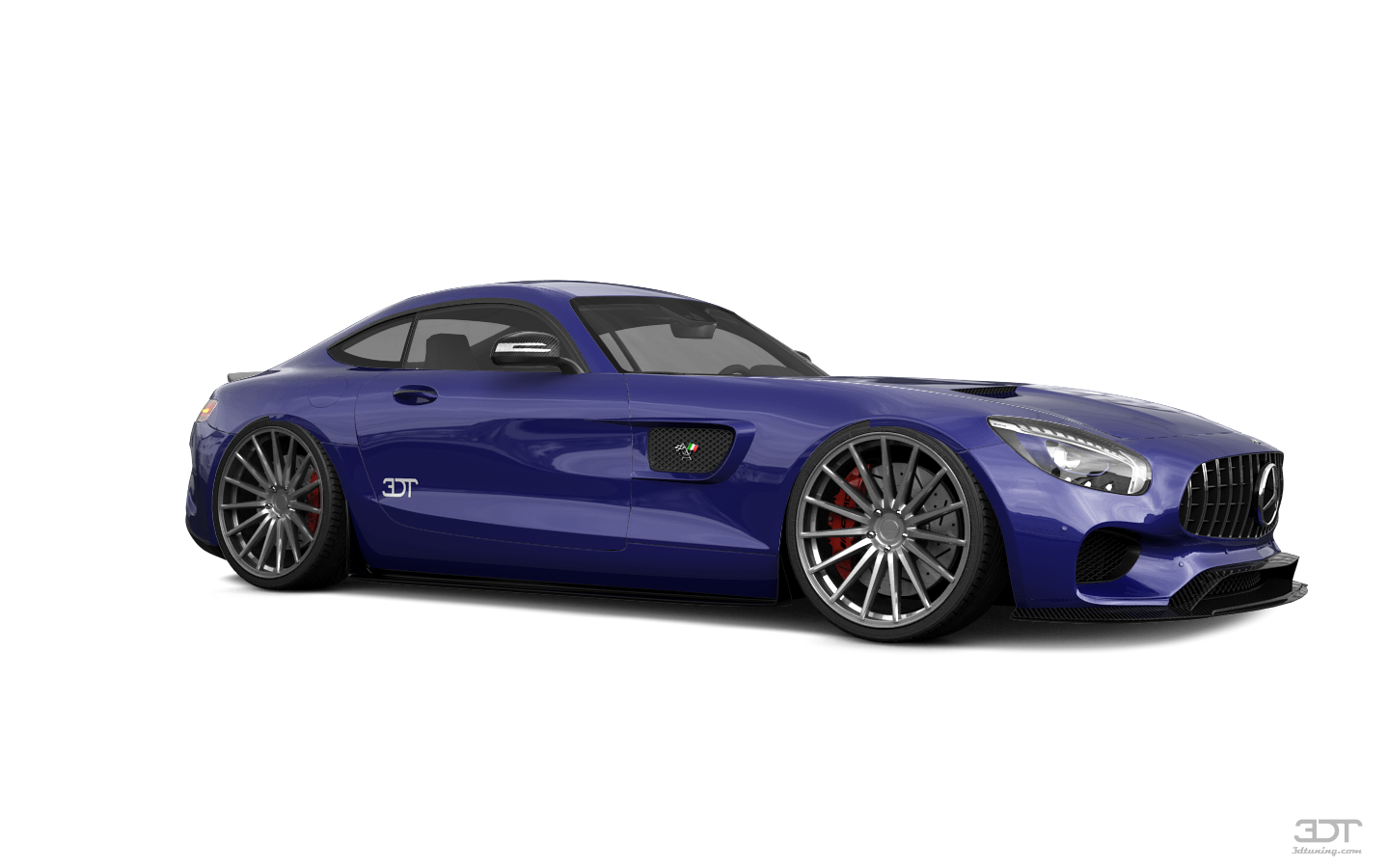 Mercedes AMG GT 2 door fastback coupe 2016 tuning