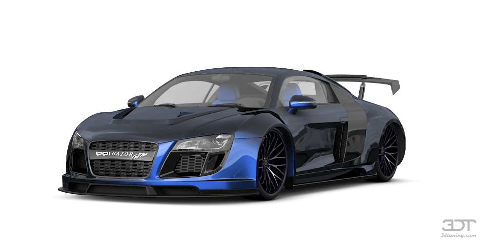 My perfect audi r8 for Peach auto painting