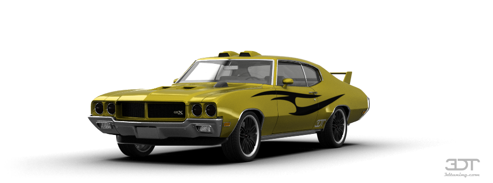 Buick GSX Coupe 1970 tuning