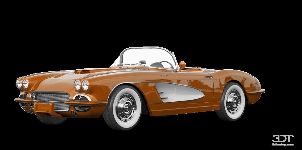 Chevrolet Corvette Convertible Coupe 1958 tuning