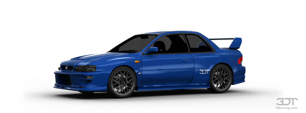3DTuning of Subaru Impreza 22B Coupe 1998 3DTuning.com - unique on-line car configurator for ...