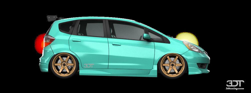 Honda Fit Sport 5 Door Hatchback 2009 tuning
