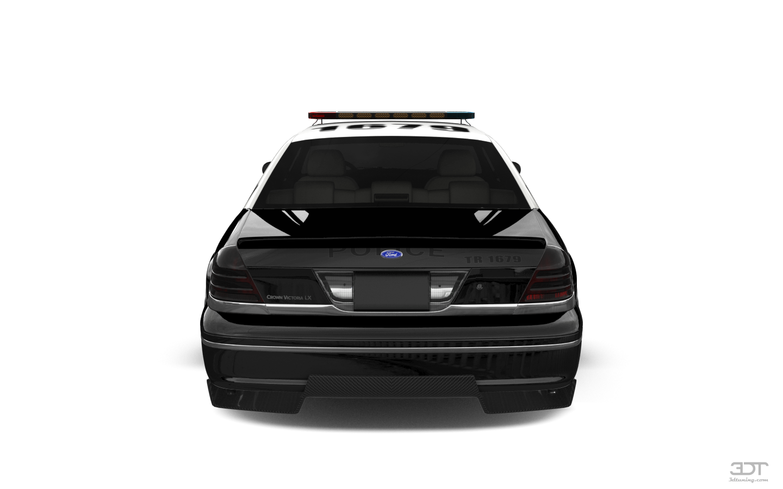 Ford Crown Victoria Sedan 2007 tuning