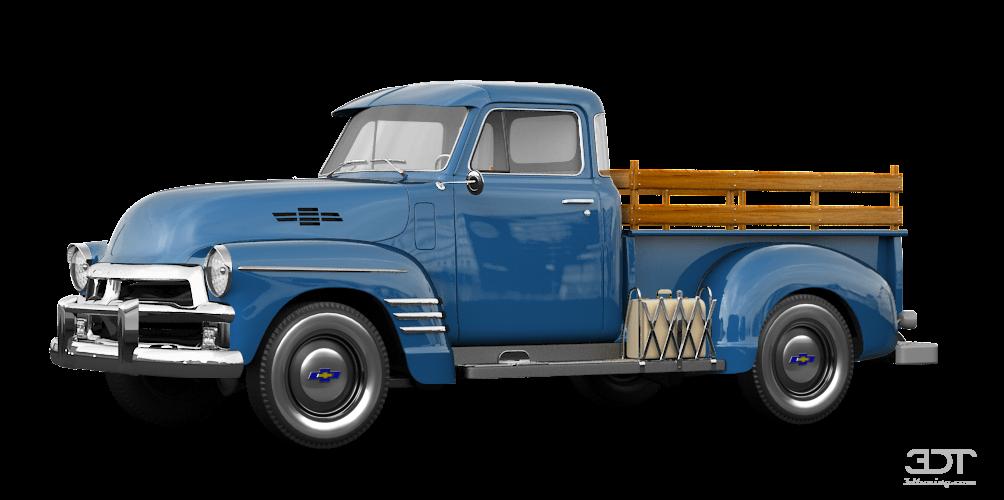 Chevrolet 3100 Pickup 1954 tuning
