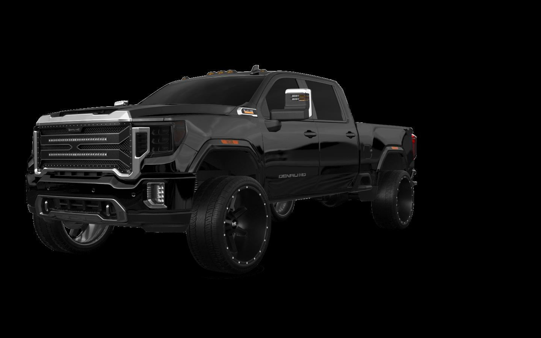 GMC Sierra 2500 HD 4 Door pickup truck 2020 tuning