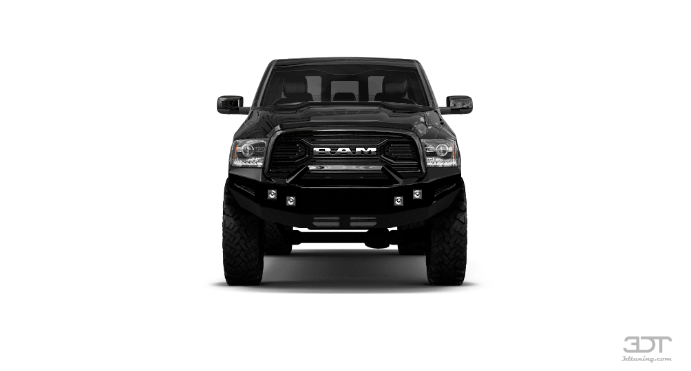 Dodge RAM 3500 Mega Cab DRW Truck 2014