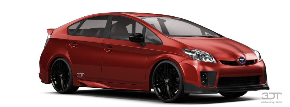 Toyota Prius 5 Door Hatchback 2010 tuning