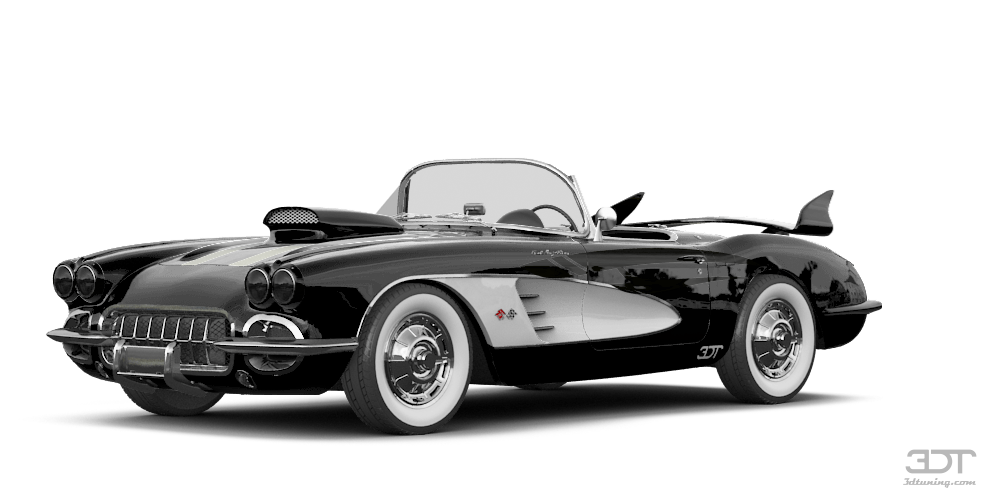 Chevrolet Corvette Convertible Coupe 1958 tuning