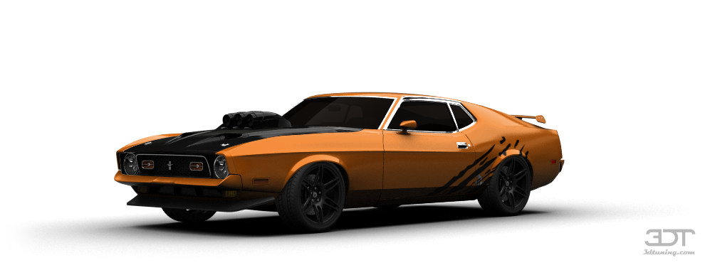 Mustang Mach 1 Coupe 1971 tuning