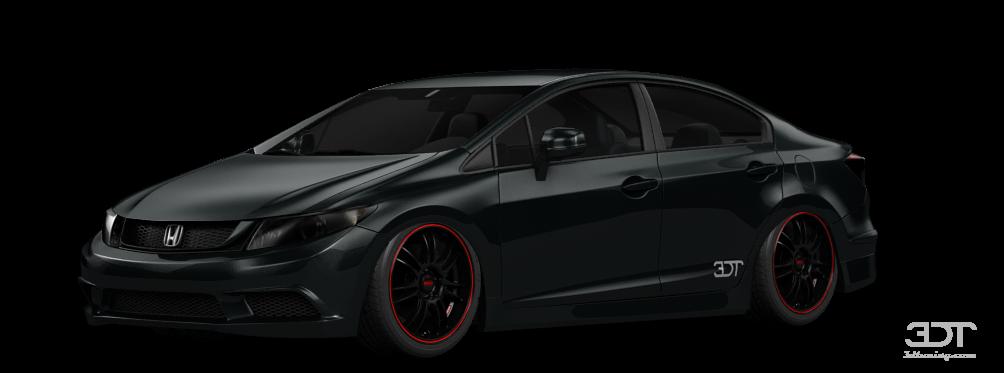 Honda Civic Sedan 2012 tuning