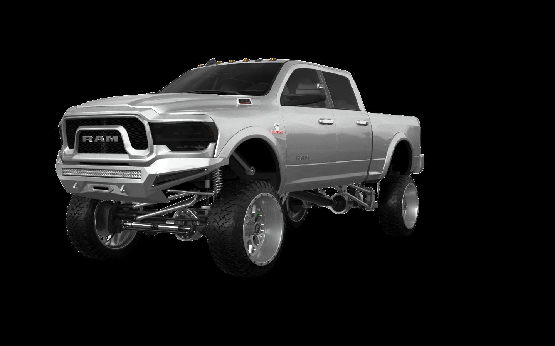 Dodge Ram 2500 4 Door pickup truck 2020 tuning