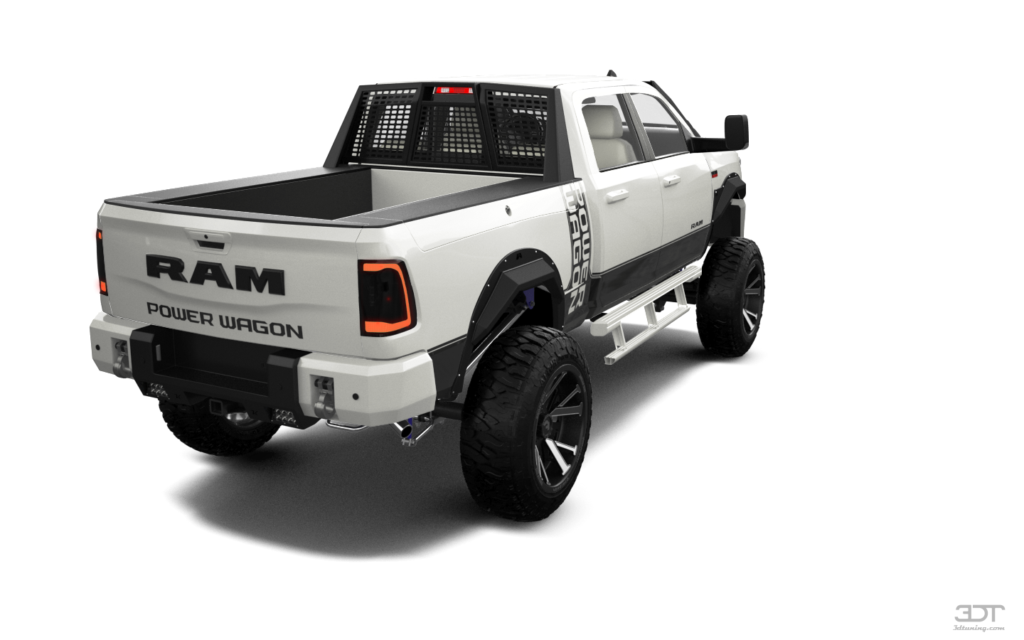 Dodge Ram 2500 4 Door pickup truck 2020 tuning
