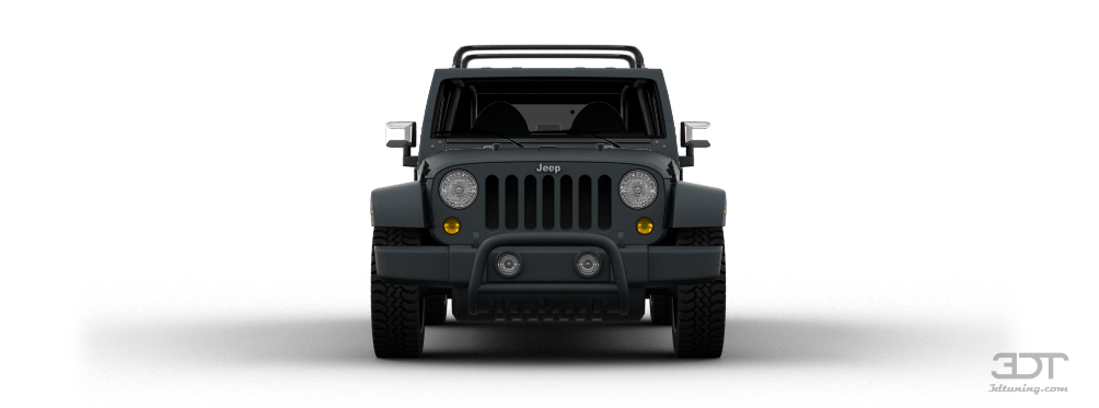 Jeep Yj Grill Guard 3DTuning of Jeep Wrangler Unlimited SUV 2008 3DTuning.com ...
