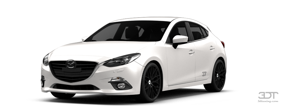 3dtuning Of Under Construction Mazda 3 Hatchback 2015