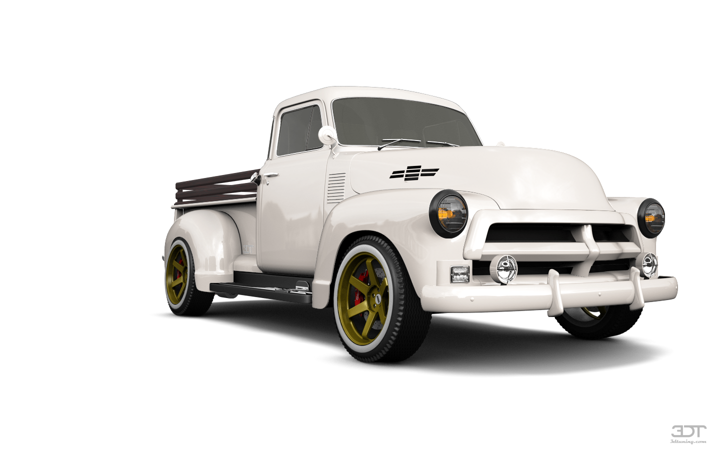 Chevrolet 3100 Pickup Truck 1954 tuning