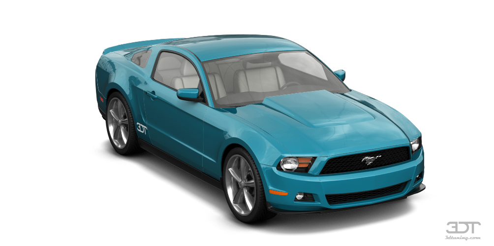 Ford Mustang 2 Door Coupe 2011 tuning