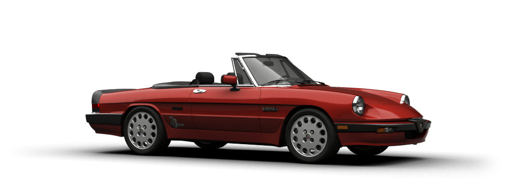 Alfa Romeo Spider Convertible 1983 tuning