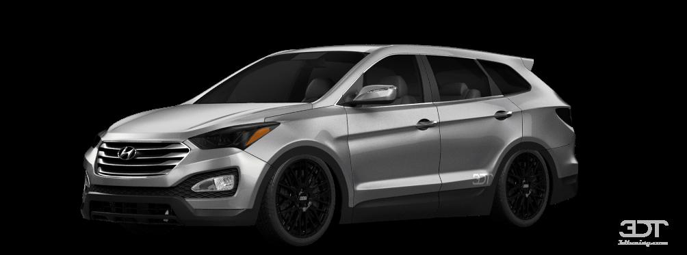 Hyundai Santa Fe SUV 2013 tuning