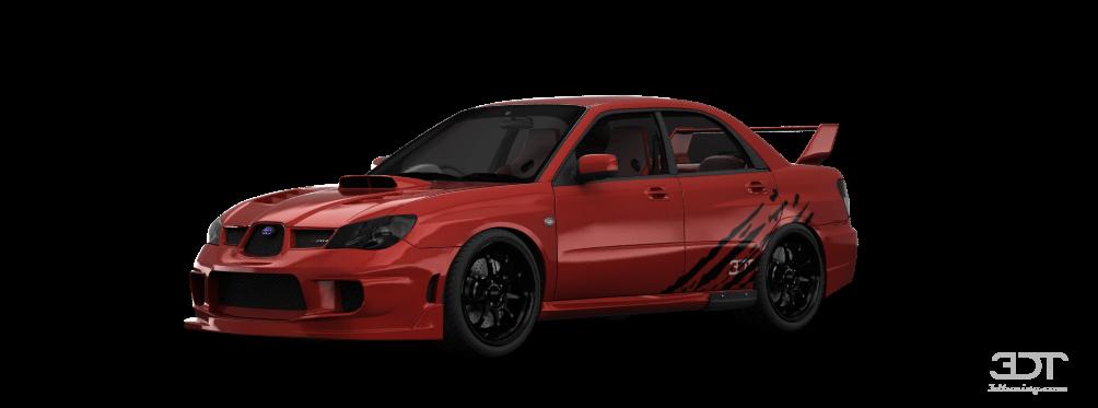 Subaru Impreza S204 sedan 2006 tuning