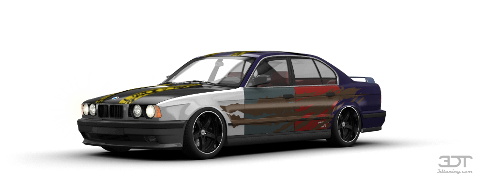 BMW 5 Series Sedan 1987 tuning