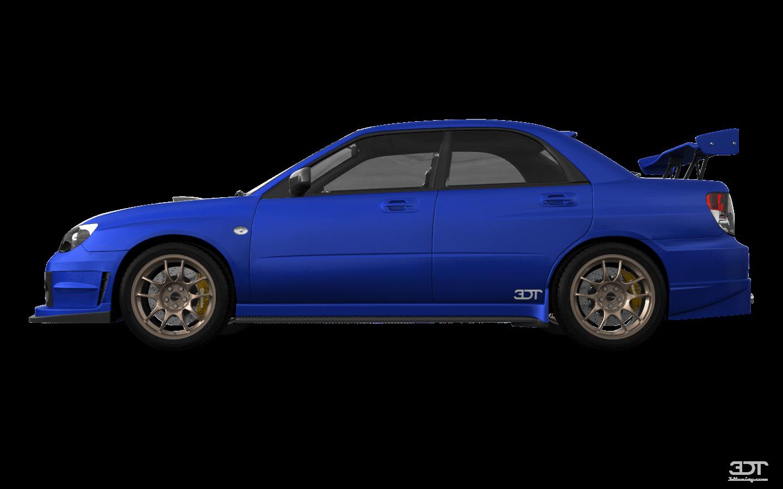Subaru Impreza S204 4 Door Saloon 2006 tuning
