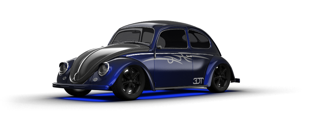 Volkswagen Beetle sedan 1950 tuning