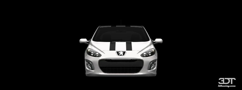 3dtuning of peugeot 308 5 door hatchback 2012 3dtuning