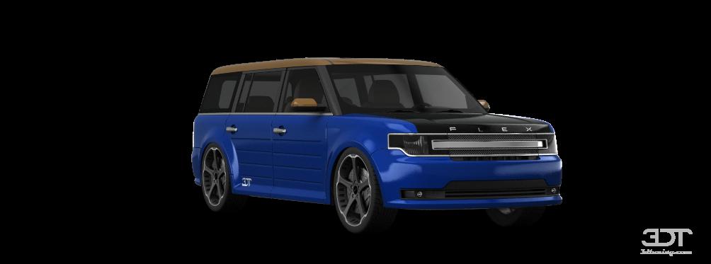 custom ford flex paint - photo #7