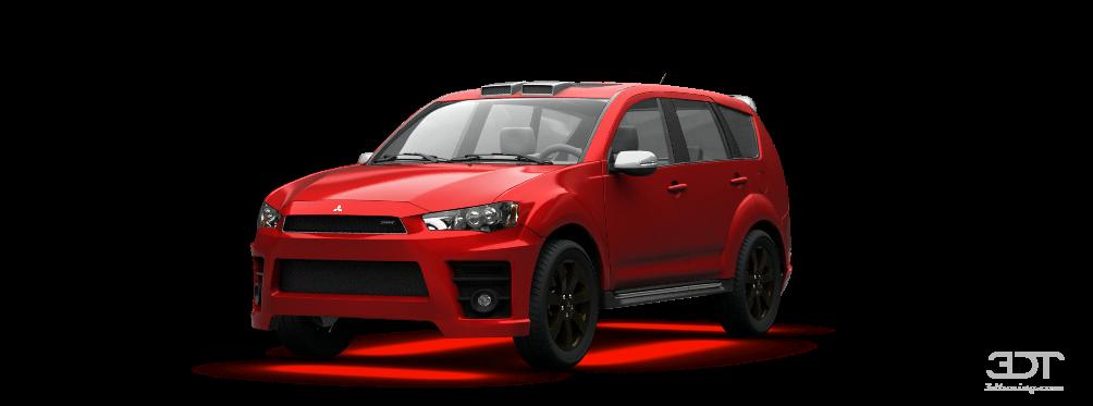 3DTuning of Mitsubishi Outlander Crossover 2012 3DTuning.com - unique on-line car configurator ...