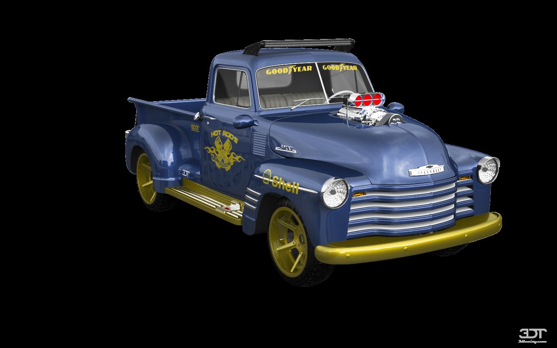 Chevrolet 3100 2 Door pickup truck 1950 tuning