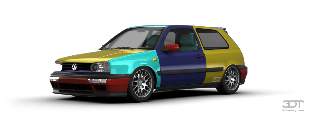 Volkswagen Golf 3 3 Door Hatchback 1991 tuning