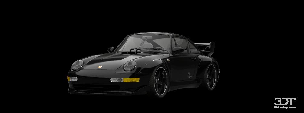 Тюнинг Porsche 911 Gt2 Coupe 1995 фото тюнинга Порше 911 ГТ2