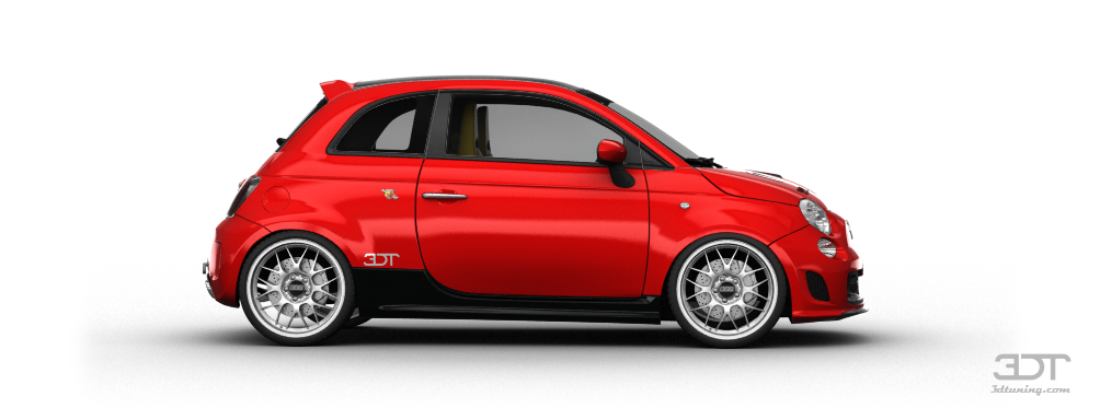 3dtuning Of Fiat 500 Abarth 3 Door 2010 3dtuning Com