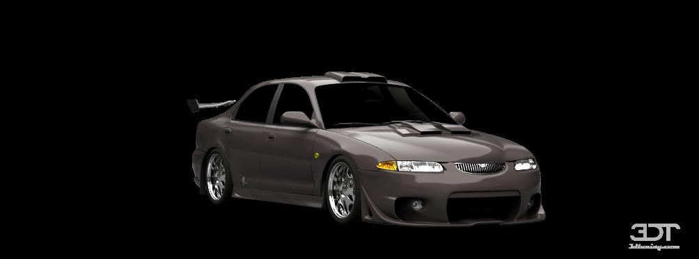 3DTuning of Mazda Xedos 6 sedan 1992 3DTuning.com - unique on-line