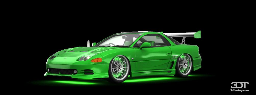 Mitsubishi GTO Coupe 1997 tuning