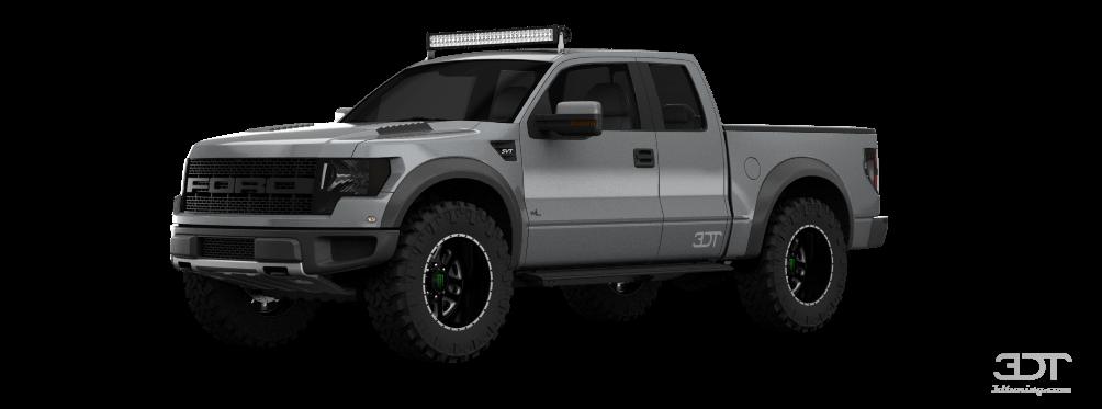 Ford F-150 SVT Raptor SuperCab Truck 2013 tuning