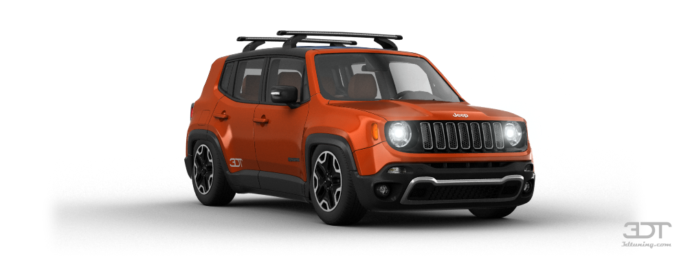 Jeep Wheels 3DTuning of Jeep Renegade SUV 2015 3DTuning.com - unique ...